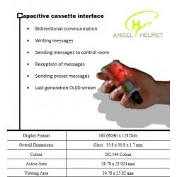 Casete capacitivo de mensajería Angelhelmet (PROXIMAMENTE)